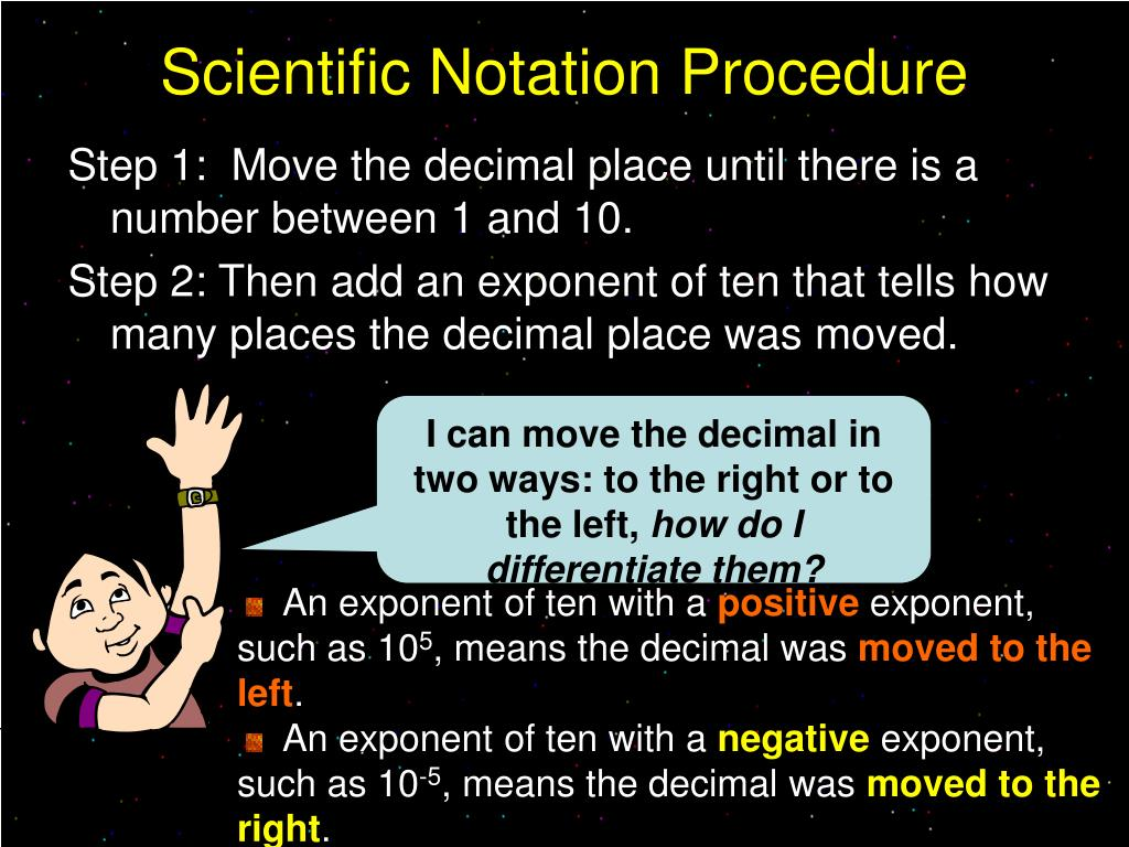 Scientific Notation Procedure