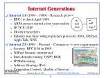 internet generations