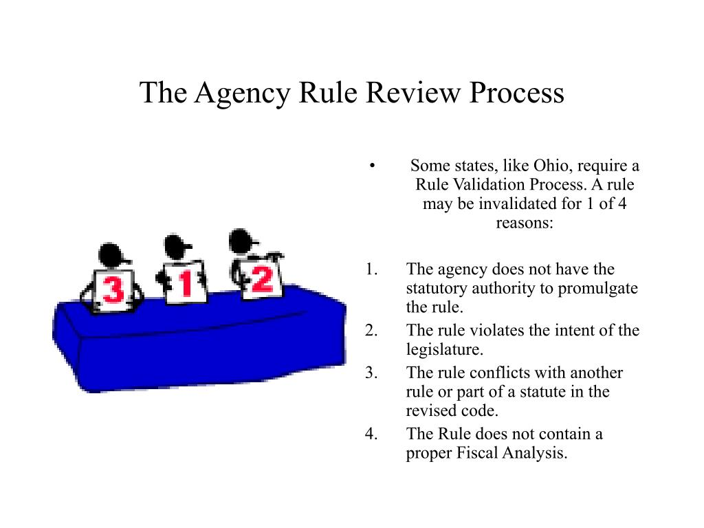 The Agency Rule Review Process