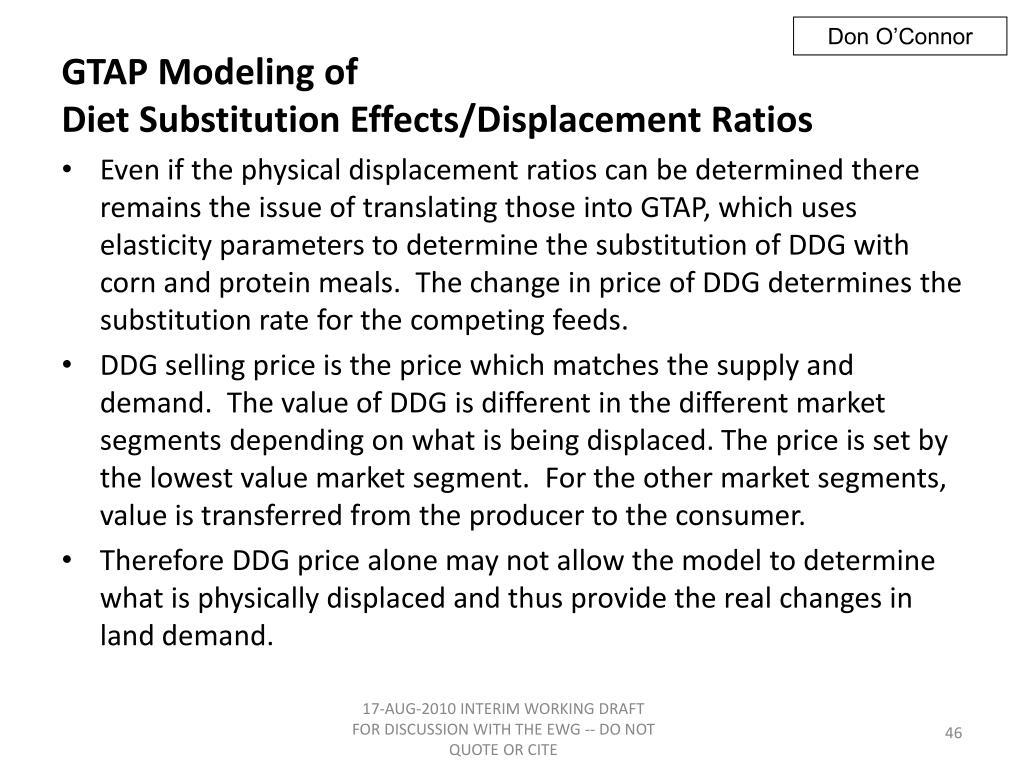 GTAP Modeling of