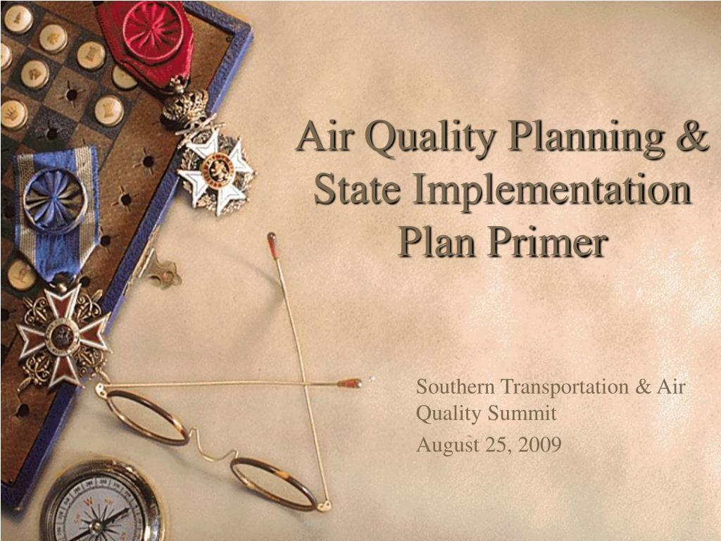air quality planning state implementation plan primer l.
