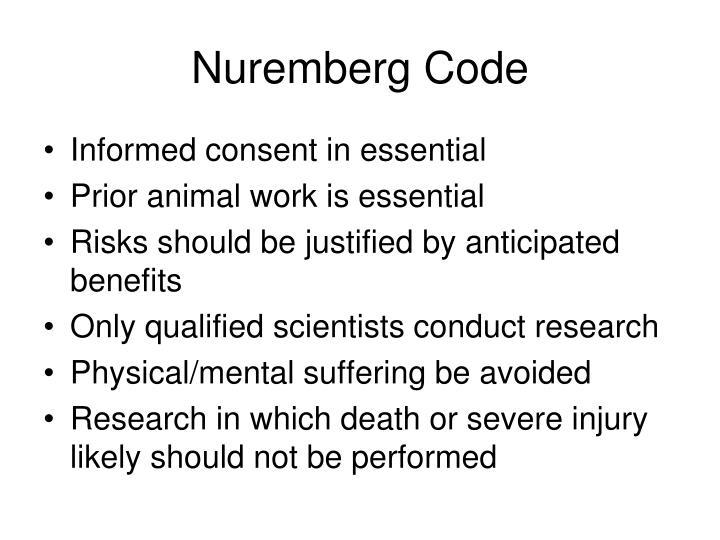 Nuremberg Code