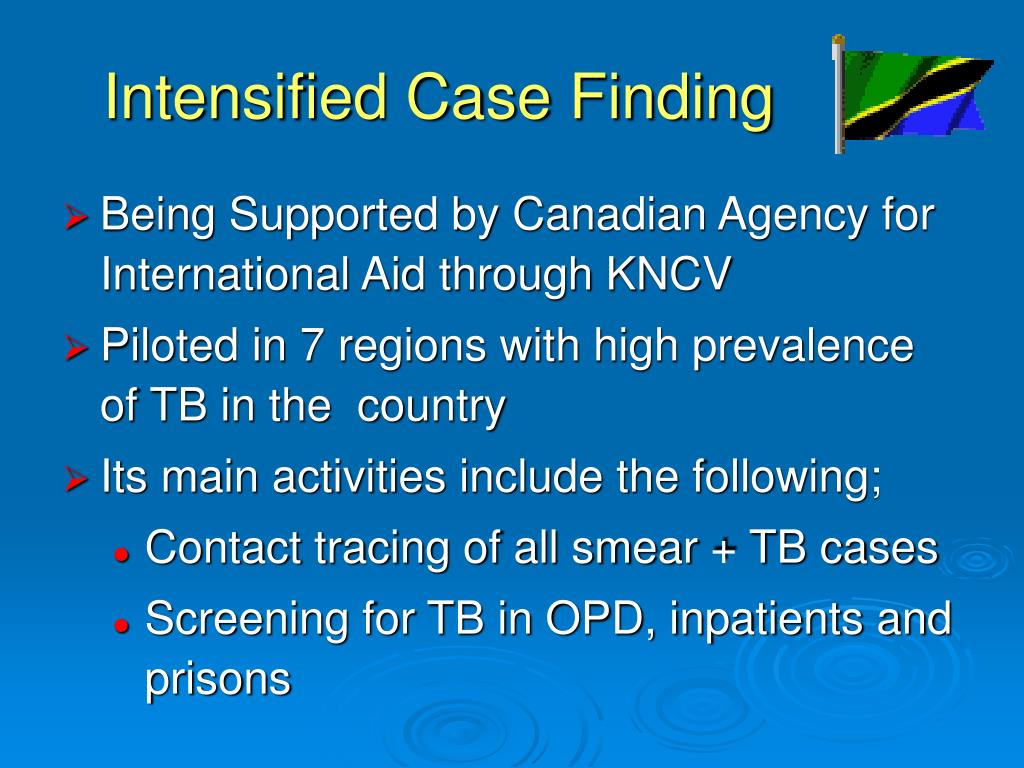 Intensified Case Finding