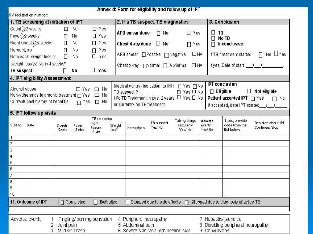 IPT Form