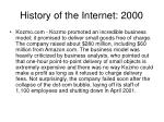 history of the internet 200021