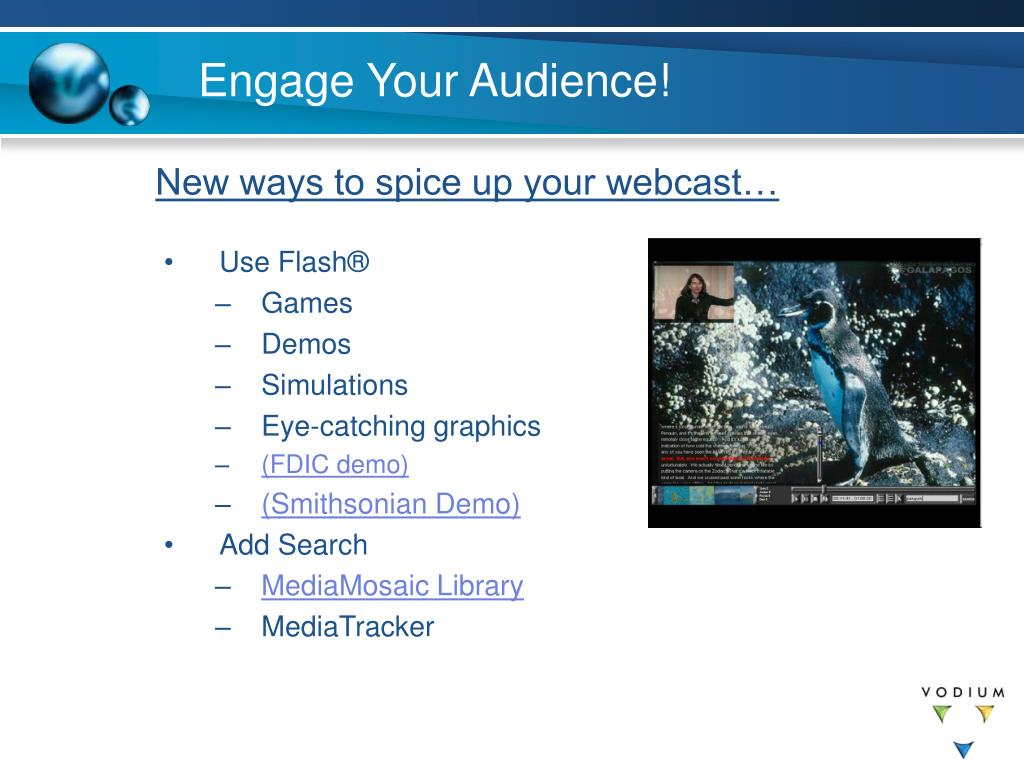 Engage Your Audience!