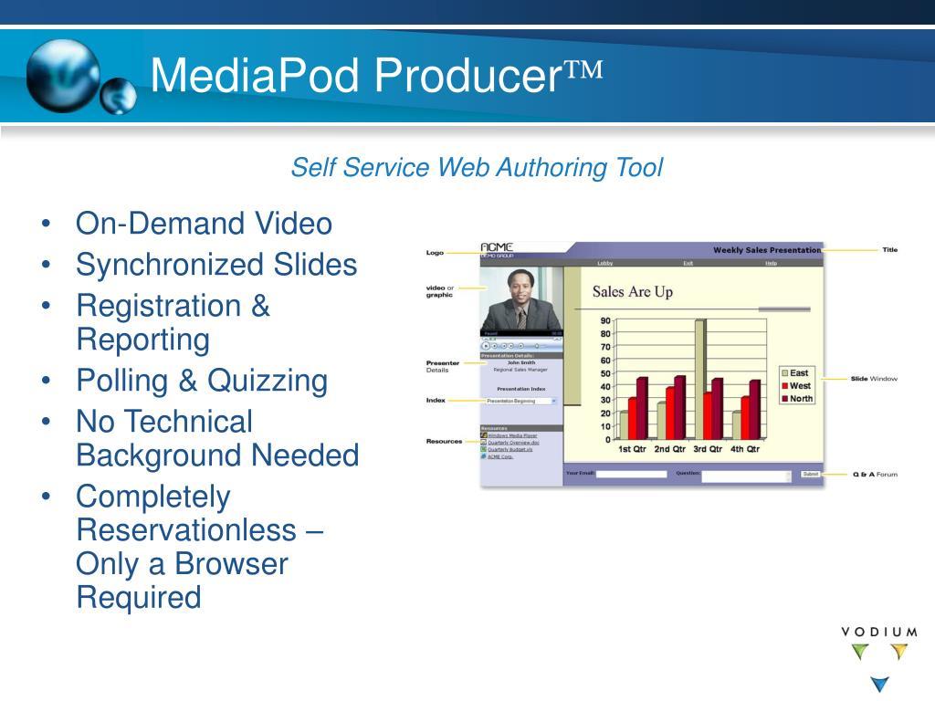 MediaPod Producer