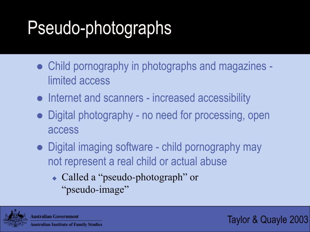 Pseudo-photographs