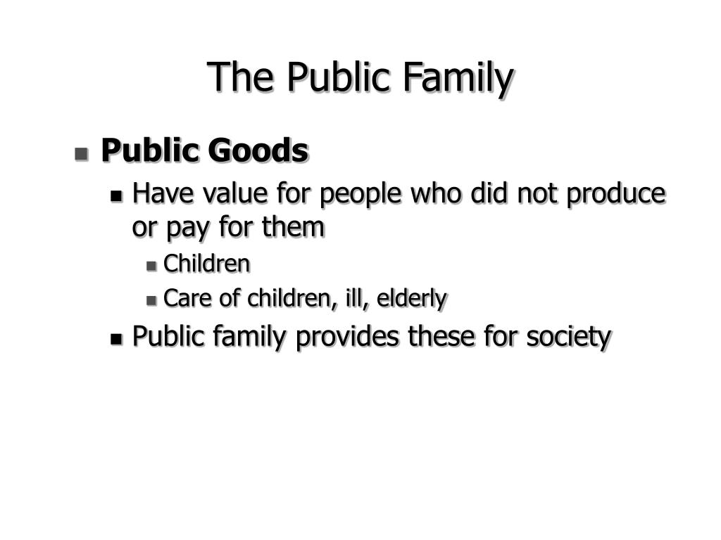 The Public Family