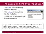 the input element type button