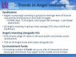 trends in angel investing