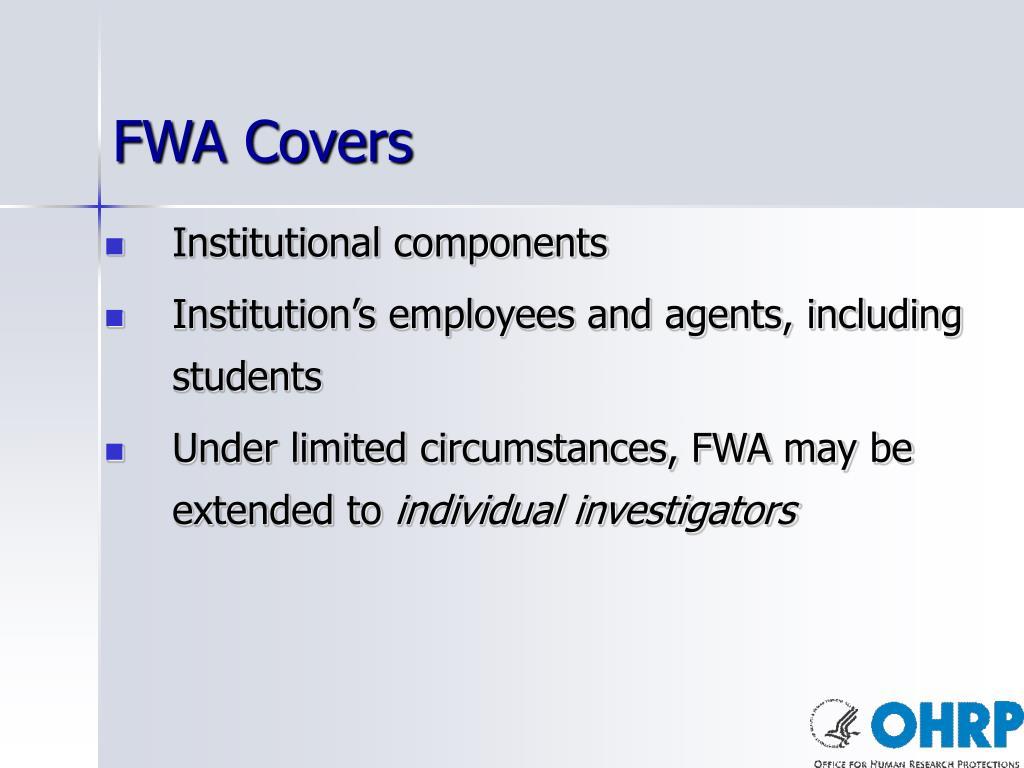 FWA Covers