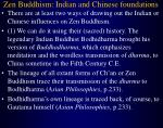 zen buddhism indian and chinese foundations