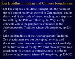 zen buddhism indian and chinese foundations13