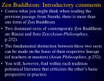 zen buddhism introductory comments10