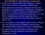 zen buddhism introductory comments11