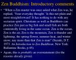 zen buddhism introductory comments9