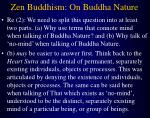 zen buddhism on buddha nature21