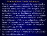 zen buddhism taoist influences
