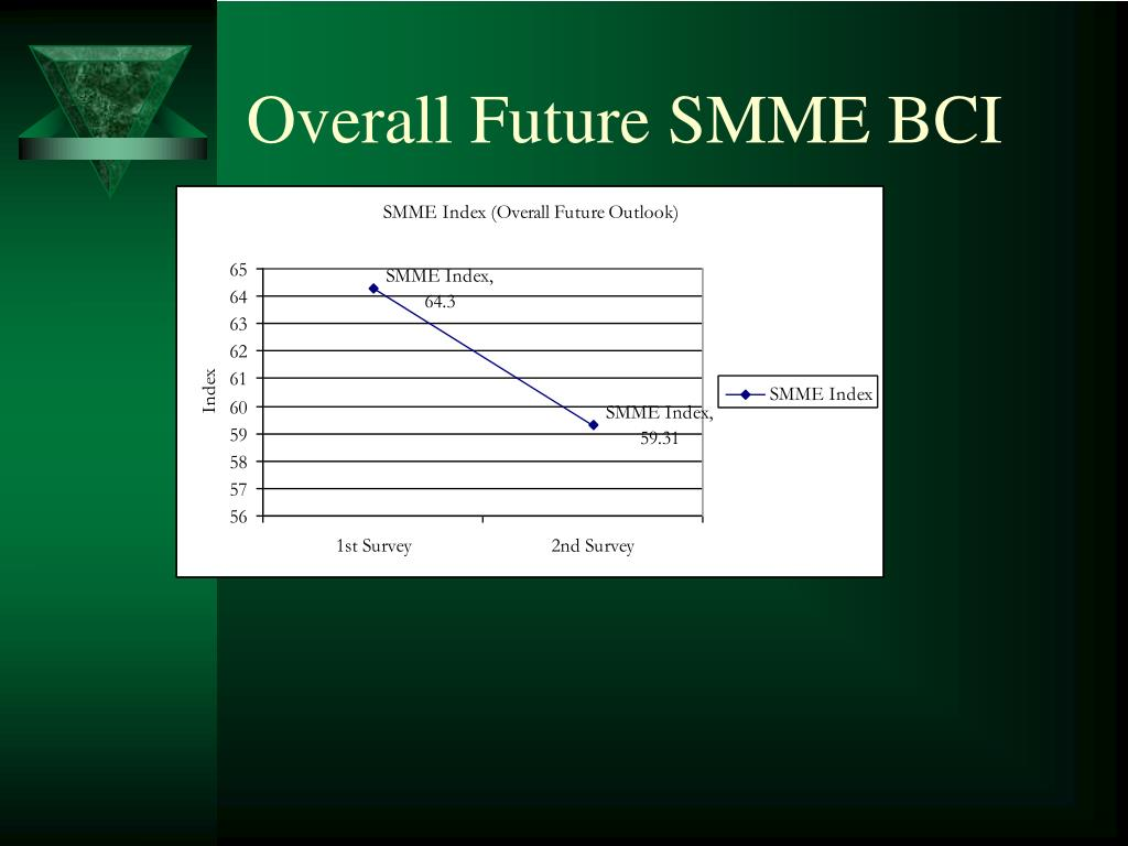 Overall Future SMME BCI