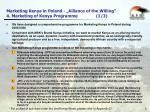 marketing kenya in poland alliance of the willing 4 marketing of kenya programme 1 3