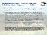 marketing kenya in poland alliance of the willing 4 marketing of kenya programme 2 3