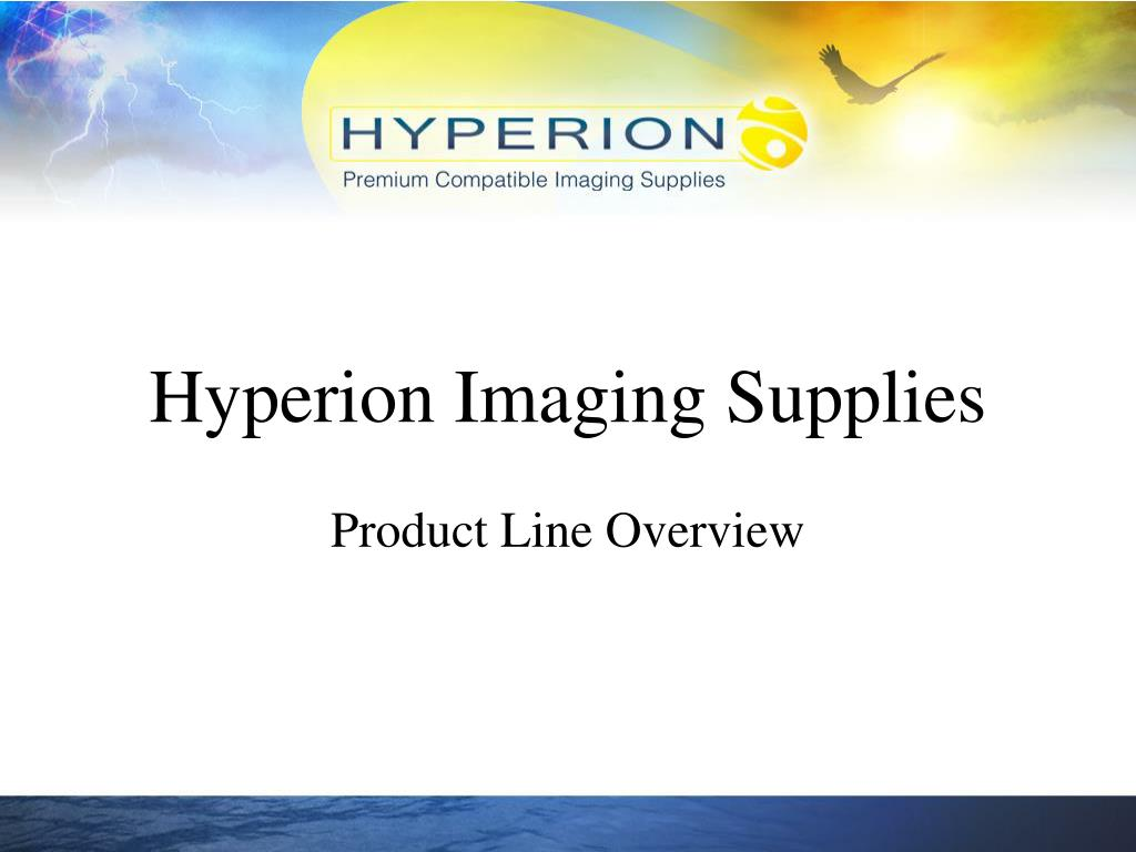 hyperion imaging supplies l.