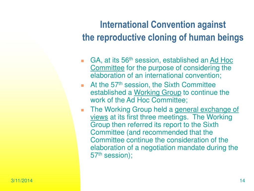 International Convention against