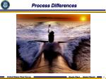 process differences