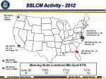 sslcm activity 2012