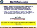 sslcm mission vision