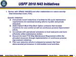 usff 2010 n43 initiatives