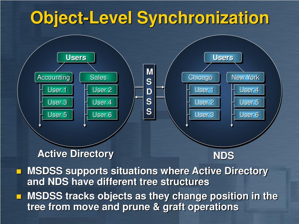 Object-Level Synchronization
