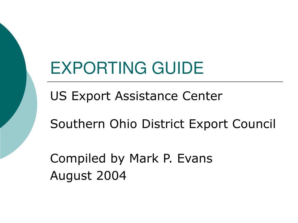 exporting guide l.