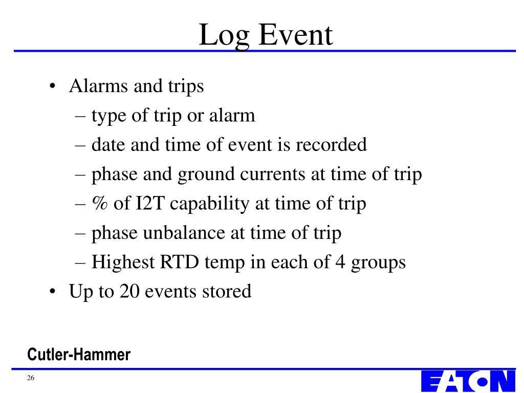 Log Event
