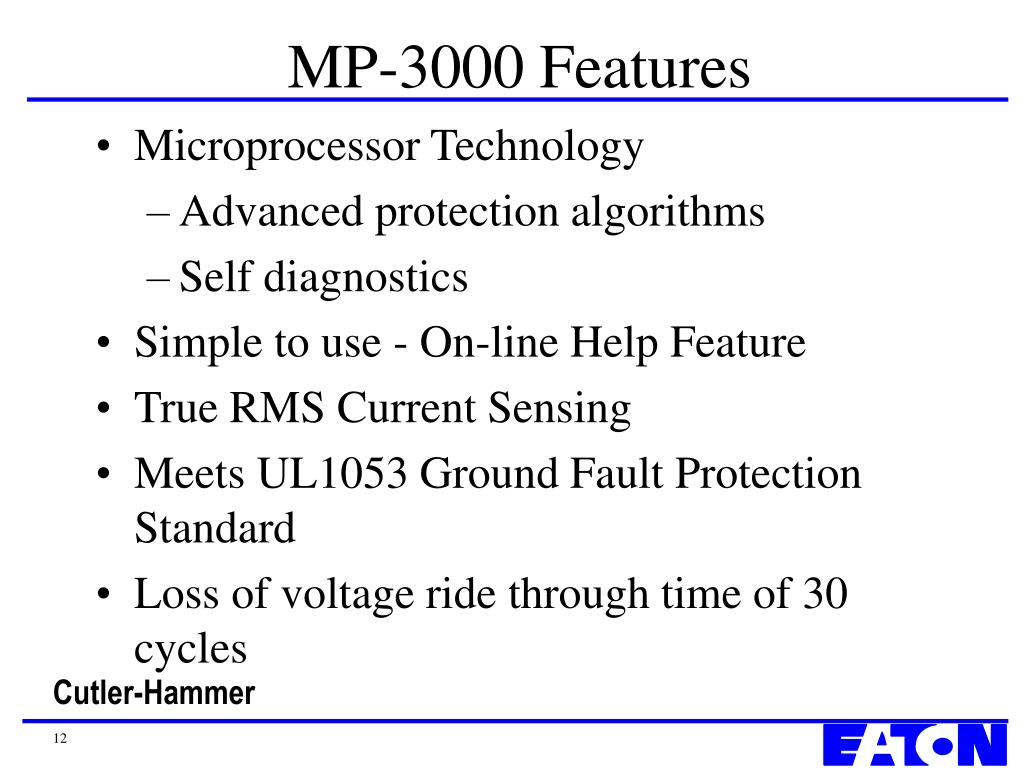 MP-3000 Features