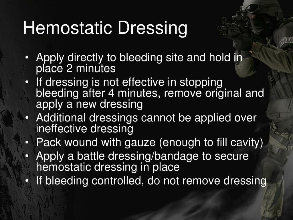 Hemostatic Dressing