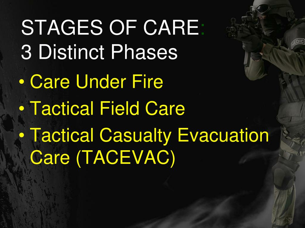 STAGES OF CARE