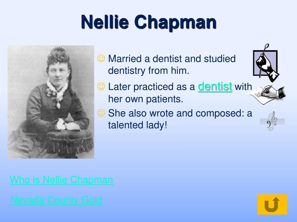 Nellie Chapman