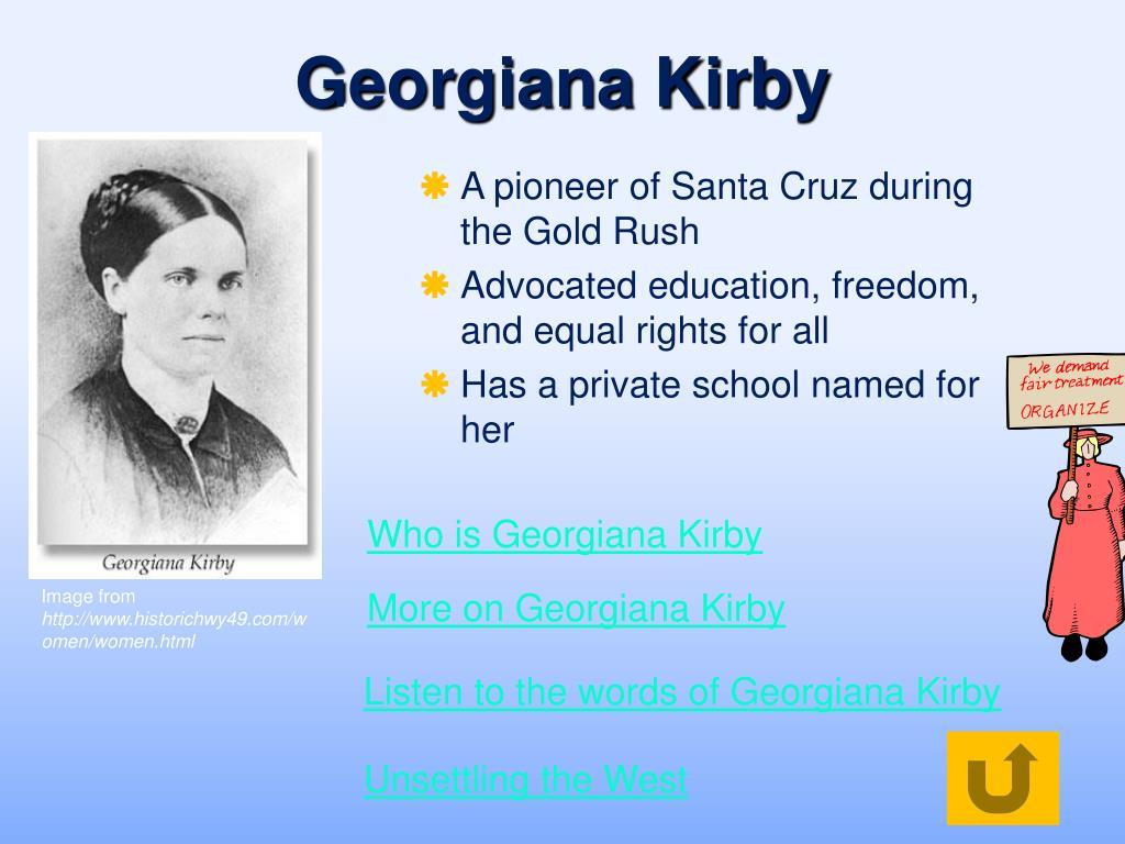Georgiana Kirby