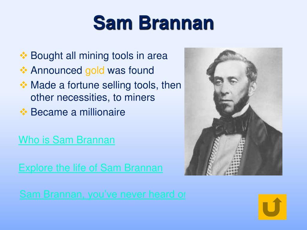 Sam Brannan