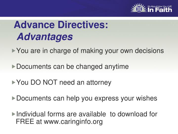 Advance Directives: