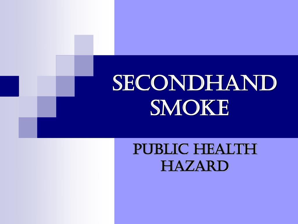 secondhand smoke l.