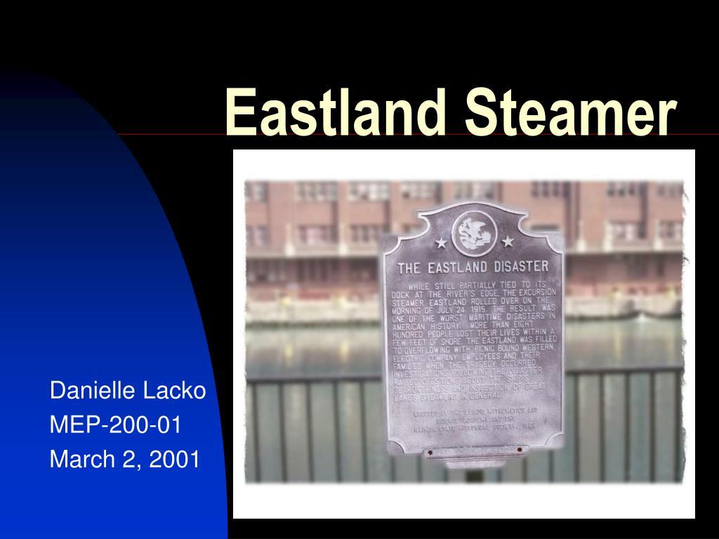 eastland steamer l.