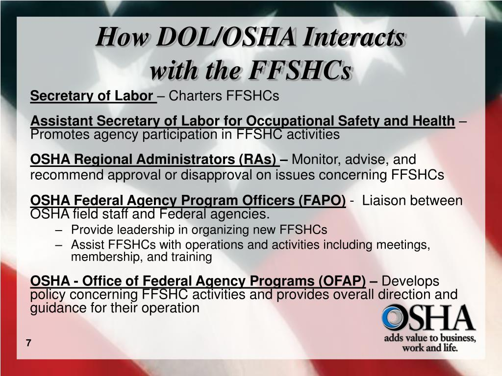 How DOL/OSHA Interacts