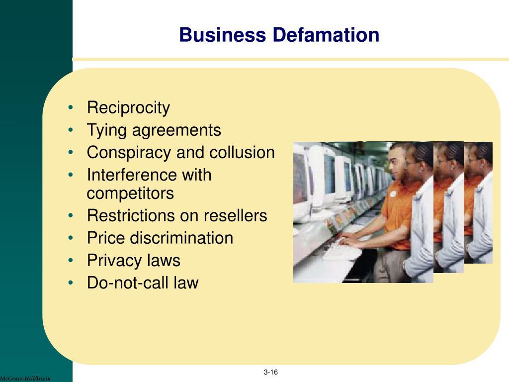 Business Defamation