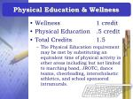physical education wellness