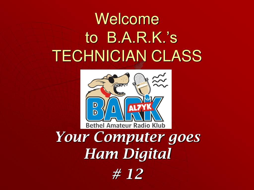 Amateur technician class powerpoints