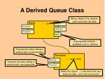 a derived queue class