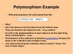 polymorphism example8